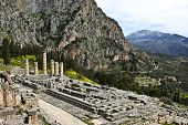 Temple Of Apollo, Delphi, Greece