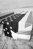 Arlington West Coffin