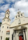 stock photo of santhome  - catholic cathedral photographed at historic st augustine florida - JPG