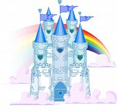 Постер, плакат: Радуга замок