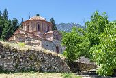 picture of sparta  - The Church of Agioi Theodoroi in Mystras Peloponnese Greece - JPG