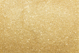 picture of xmas star  - Close Up Of Gold Glitter Background With Copy Space - JPG