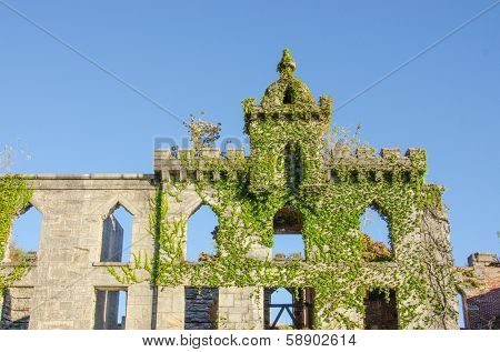 Ruins of Smallpox Hospital, Roosevelt Island, New York