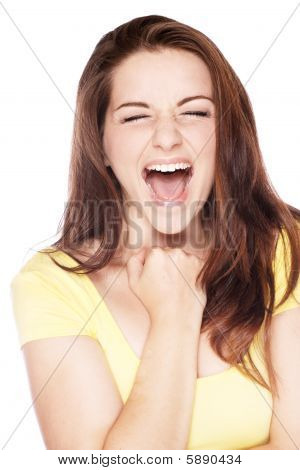 Ecstatic Woman