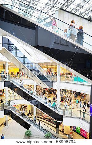 Shopping Mall In Krakow