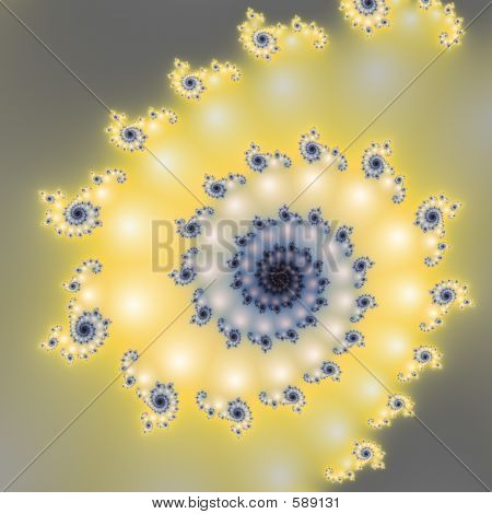Computer-generated Fractal