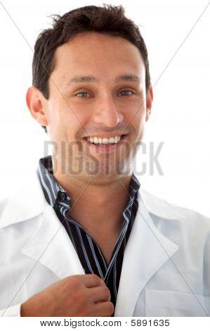 Retrato de hombre Doctor