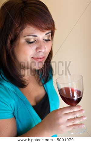 Happy Wine Taster