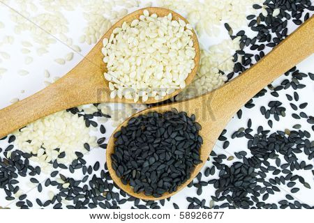 White And Black Sesame