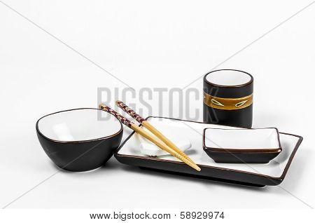 Japanese Sushi Dish Set