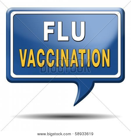 flu vaccination needle immunization shot