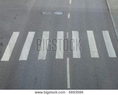 Pedestrian Crossing.