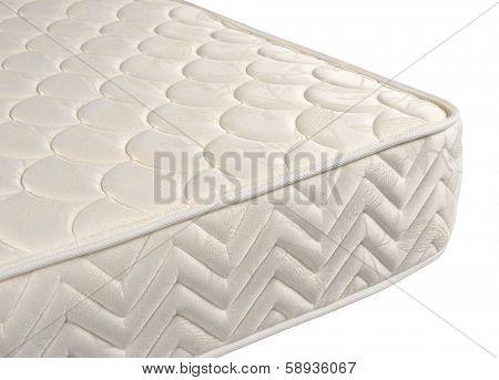 Mattress against white background.
