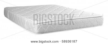Mattress against white background.