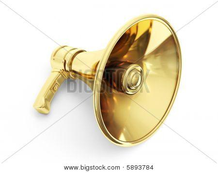 Golden Bullhorn