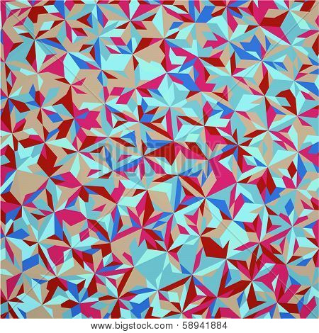Vintage Hipster Seamless Geometric Pattern Background Vector