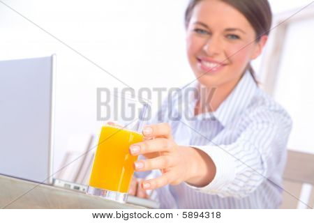Reaching For Juice