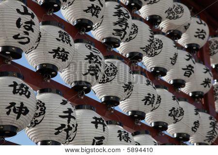 Lámparas japonesas - Tokio