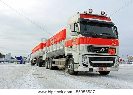 Volvo FH Aga Gas Tanker Truck