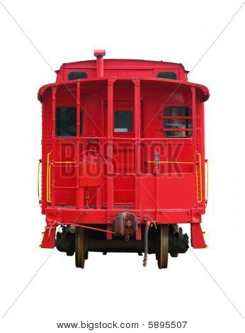 Red Old Train