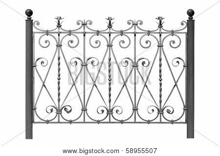 Forged  Fence.