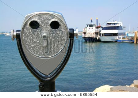 Binocular By The Water