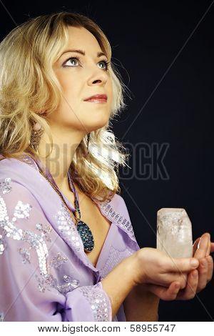 Woman In Ritual