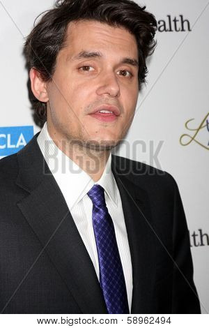 LOS ANGELES - JAN 22:  John Mayer at the UCLA Head and Neck Surgery Luminary Awards at Beverly Wilshire Hotel on January 22, 2014 in Beverly Hills, CA