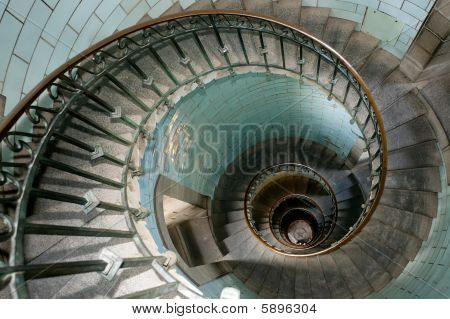 Snail Lighthouse Staircase