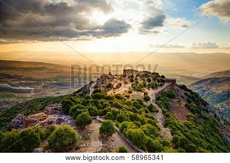 Fortress Nimrod in Israel
