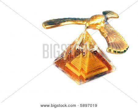 Eagle Over The Pyramid