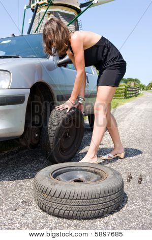 Changing A Tire