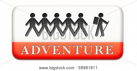 adventure travel and explore the world adventurous backpacking outdoors sport and adventurer vacation