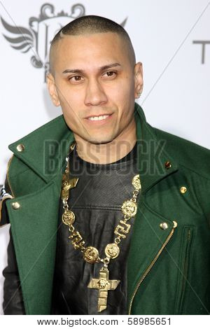 LOS ANGELES - JAN 23:  Taboo at the Annual Trans4m Benefit Concert at Avalon on January 23, 2014 in Los Angeles, CA