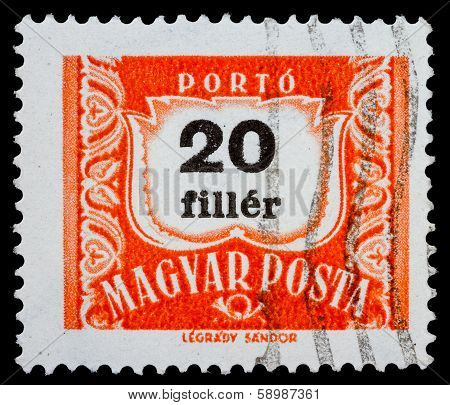 Hungarian Post Stamp