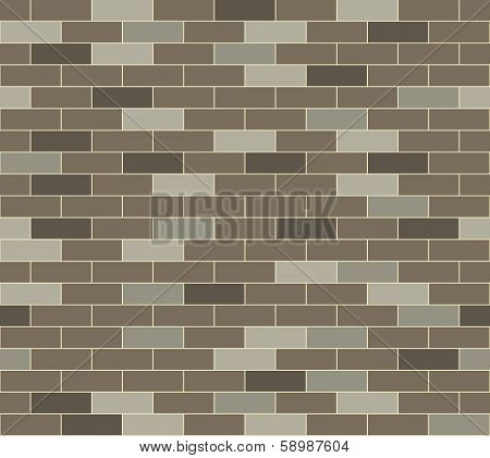 Simple Grey Brick Background