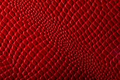 pic of crocodile  - Imitation of crocodile red skin foto macro - JPG