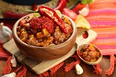 stock photo of nachos  - Chili Corn Carne  - JPG