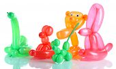 picture of parti poodle  - Simple balloon animals - JPG