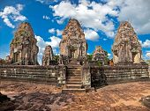 Eastern Mebon temple at Angkor wat complex, Cambodia. Built during the reign of King Rajendravarman,