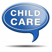 stock photo of daycare  - child care in daycare or cr - JPG