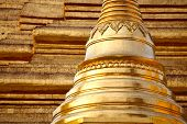 stock photo of yangon  - Golden pagoda  - JPG