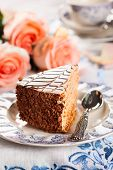 stock photo of torte  - Chocolate  - JPG