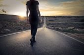 stock photo of women rights  - the right path - JPG