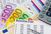 image of self-employment  - a business plan for starting a business - JPG