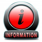 foto of more info  - information sign icon banner or label to search more details and find online info - JPG