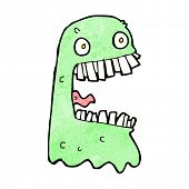 pic of grossed out  - cartoon gross ghost - JPG
