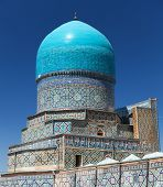 picture of samarqand  - View from Tilla - JPG