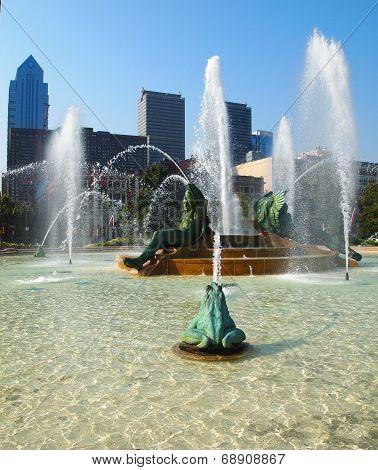 Swann Memorial Fountain In Logan Circle