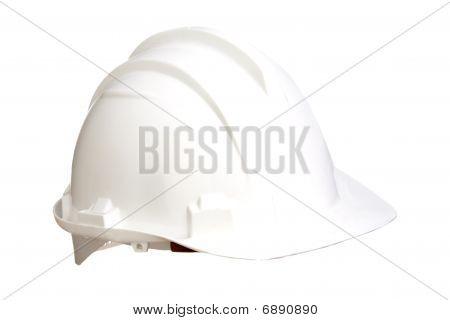 White Helmet Isolated